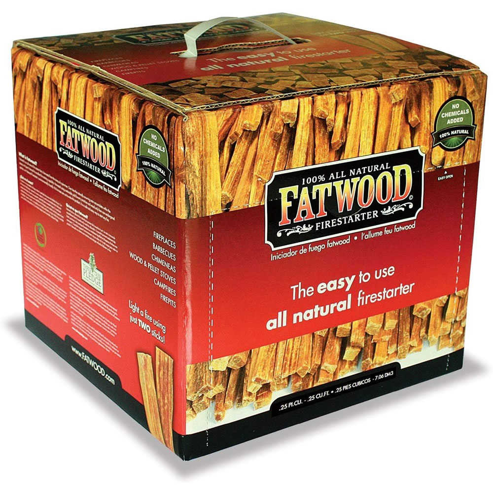 Fatwood 10 lb 10LB Box 100/% Natural Firestarter